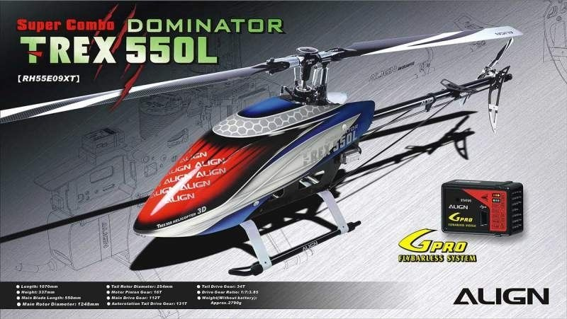 T-REX 550L Dominator Super Combo