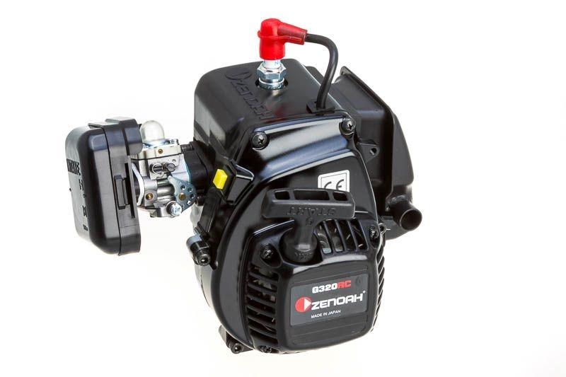 Zenoah G320RC 31,8ccm Motor (inkl. Kupplung, Filter, Reso)