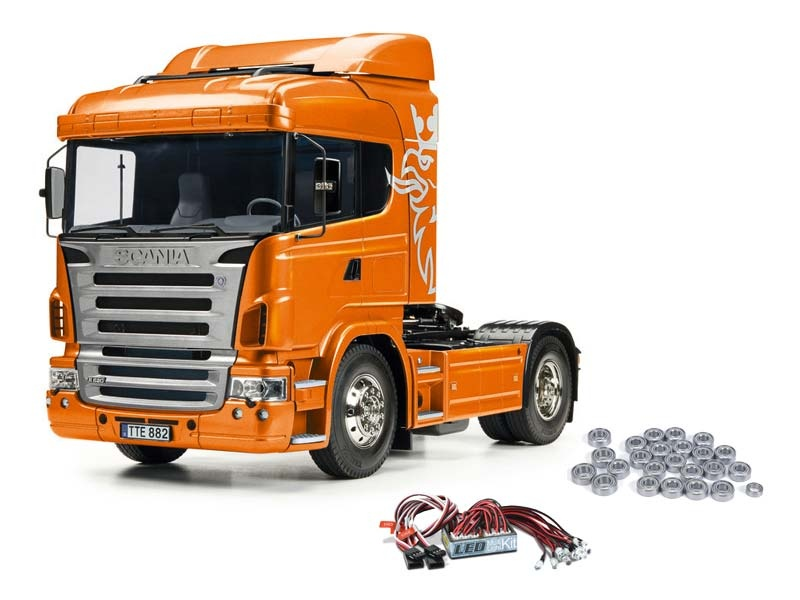Scania R470 4x2 Orange Edition inkl. LED und Kugellager