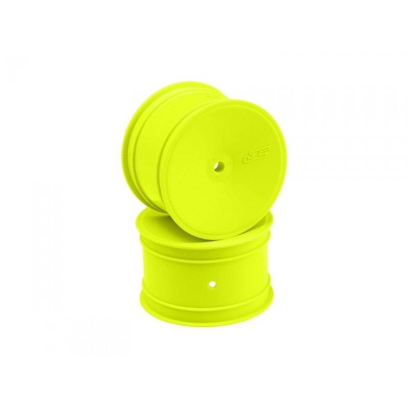 Mono Felgen hinten 2.2 gelb 12mm Hex für 1/10 Buggy (4)