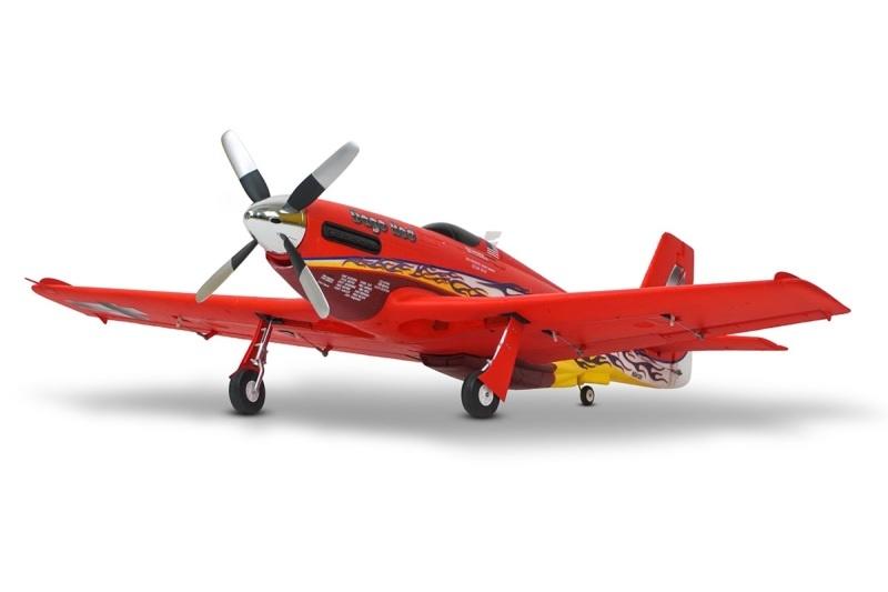 P-51 Dago Red PNP - 110 cm