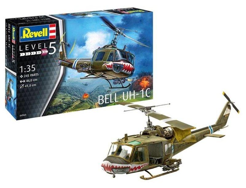 Bell UH-1C Kampfhubschrauber Plastik Bausatz 1:35