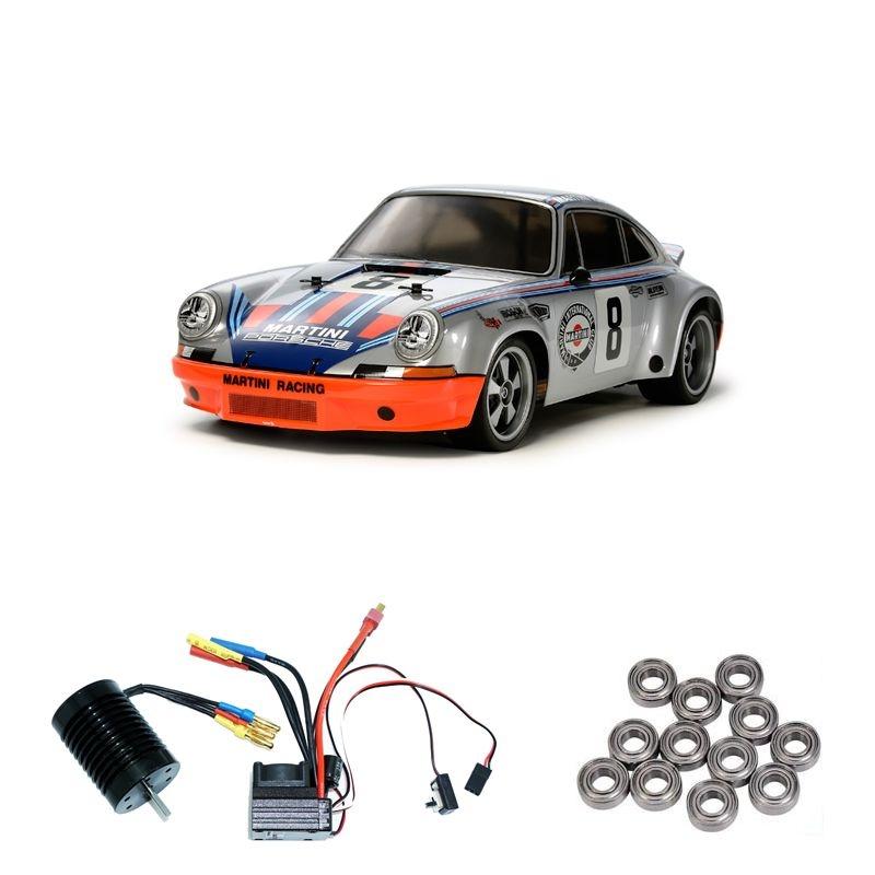 Porsche 911 Carrera RSR TT-02 Brushless-Edition + Kugellager