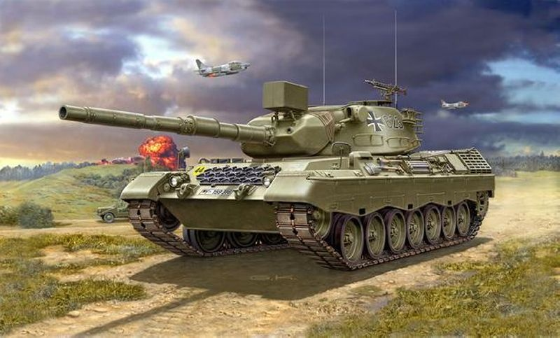 Leopard 1A1 1:35