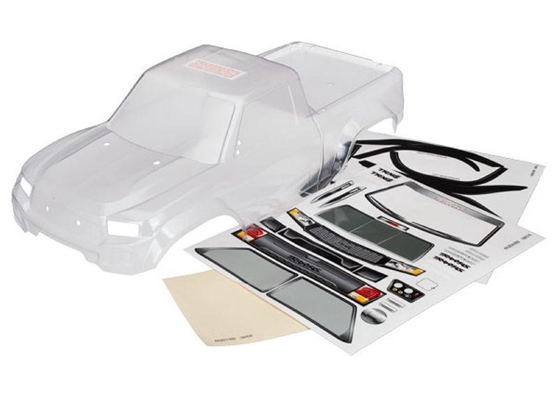 Karosserie (klar) vorbereitet für LED Kit für TRX-4 Sport