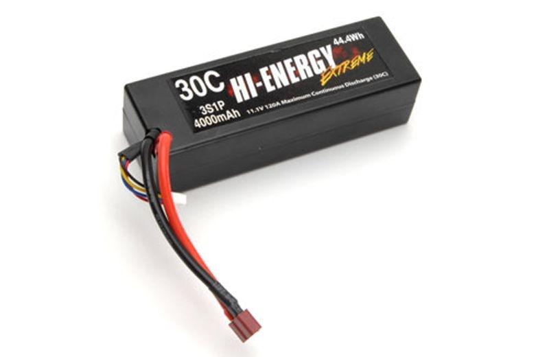 3S 4000mAh 30C Li-Po Hardcase Deans-Plug