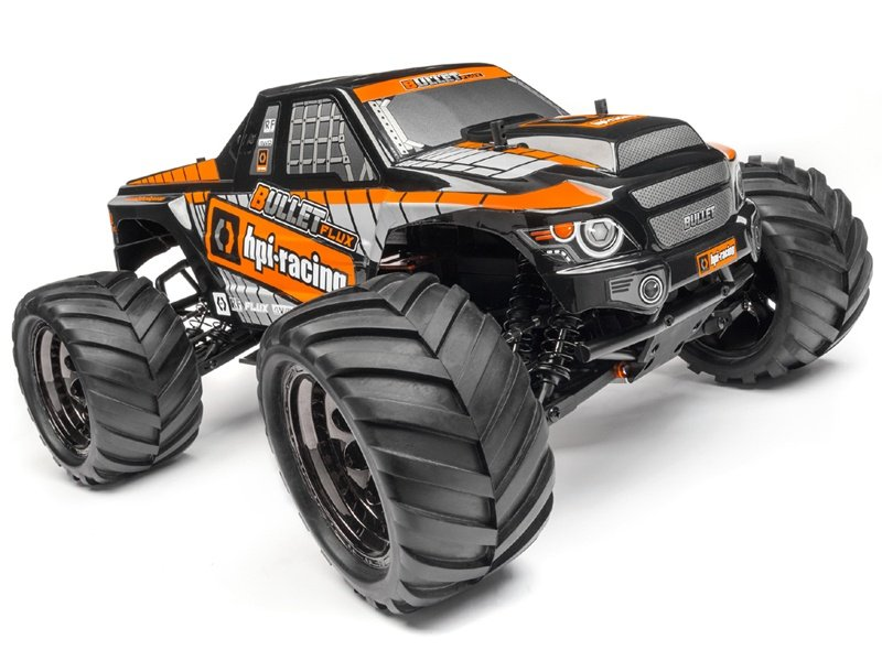 Bullet MT Flux RTR (2.4GHz) Brushless Monster Truck