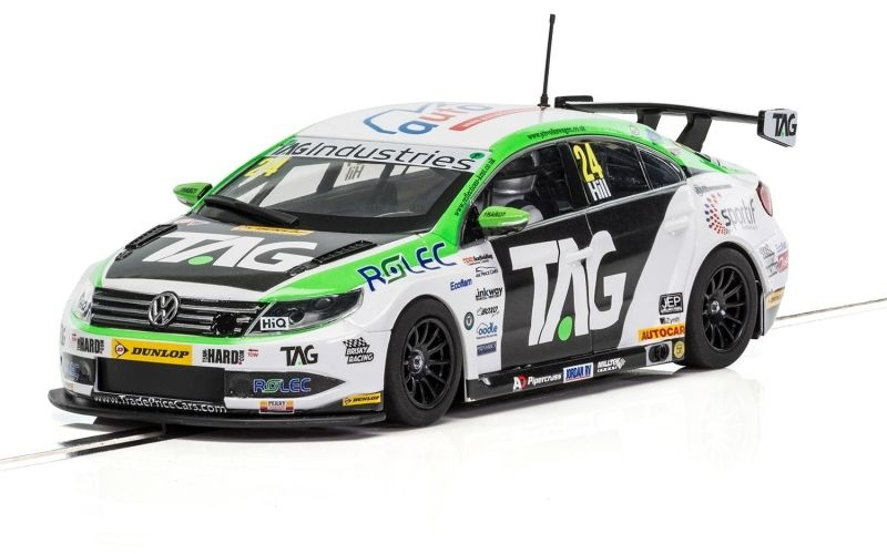 VW Passat CC NGTC Team HARD - BTCC17 Jake Hill Slotcar 1:32