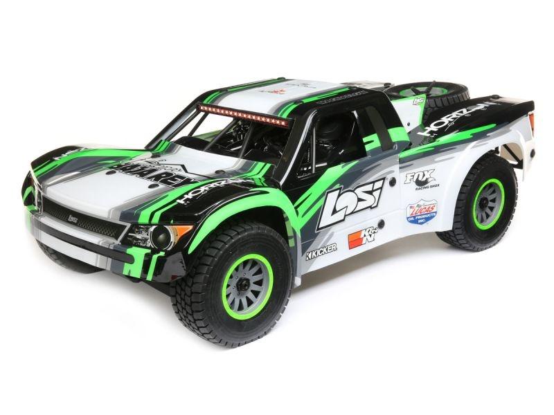 Super Baja Rey 4WD Desert Truck 1:6 RTR (mit AVC) schwarz