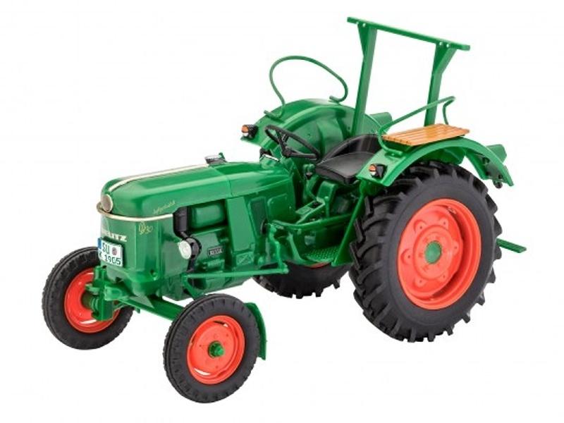 Deutz D30 Traktor 1:24 Plastik Bausatz