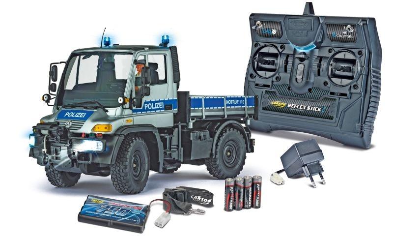 MB Unimog U300 Polizei 1/12 LKW 2,4GHz 100% RTR