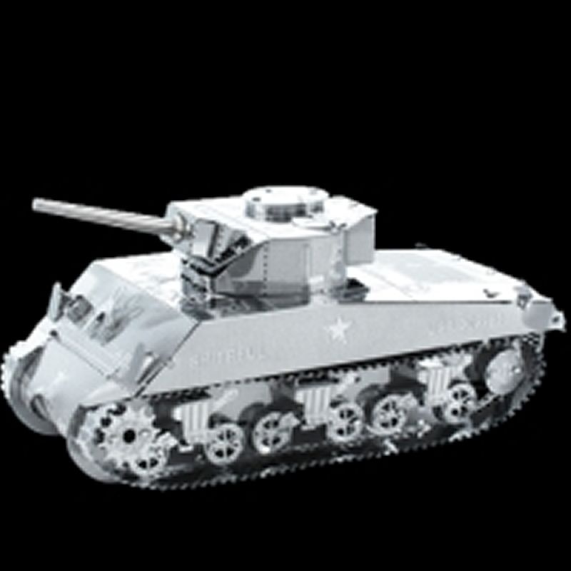 Sherman Tank Metalearth Bausatz