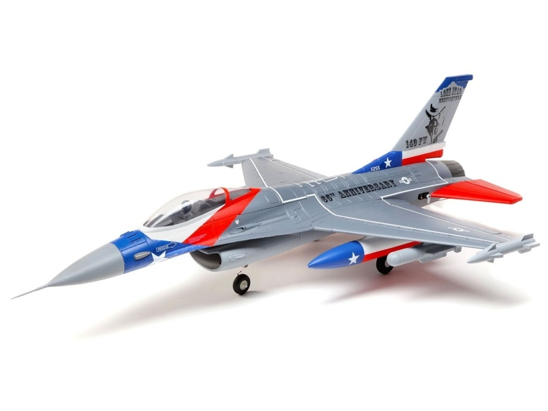 F-16 Falcon 64mm EDF BNF mit AS3X & SAFE Select