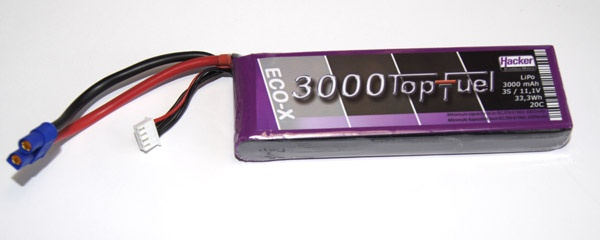 TopFuel LiPo 20C-ECO-X 3000mAh 3S