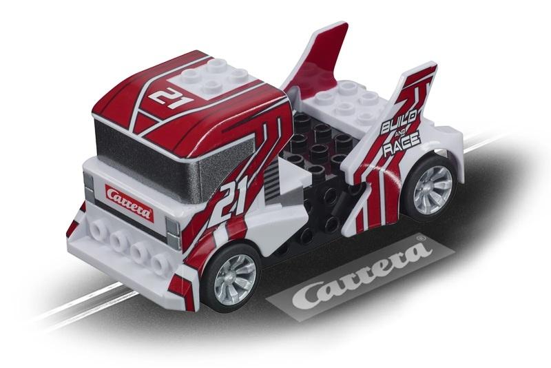 GO!!! Build n Race - Race Truck weiß