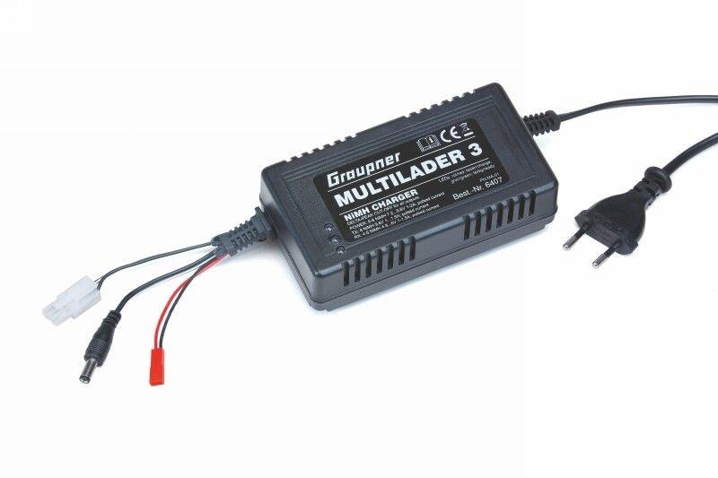 Ladegerät Multilader3 JST/TX/RXBEC NiMH