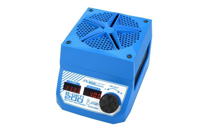 B-Gen 200 Akku Analysator Entladegerät 200W 0,1-30A