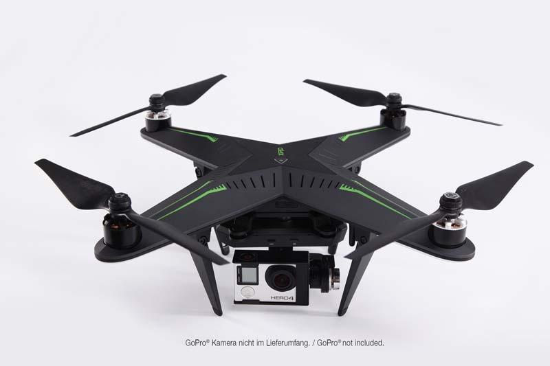 Xplorer G Drone RTF Quadrocopter mit 3-Achs GoPro Gimbal