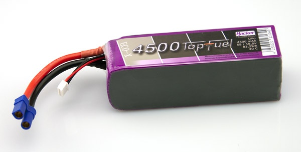 TopFuel LiPo 20C-ECO-X 4500mAh 5S