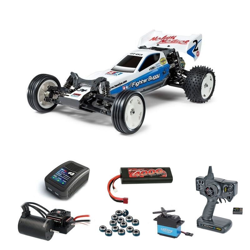 Neo Fighter DT-03 2WD Buggy Brushless-Edition Komplettset