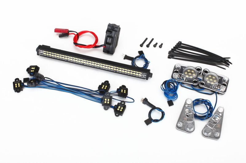 LED Beleuchtungs-Set komplett für TRX-4 wasserdicht