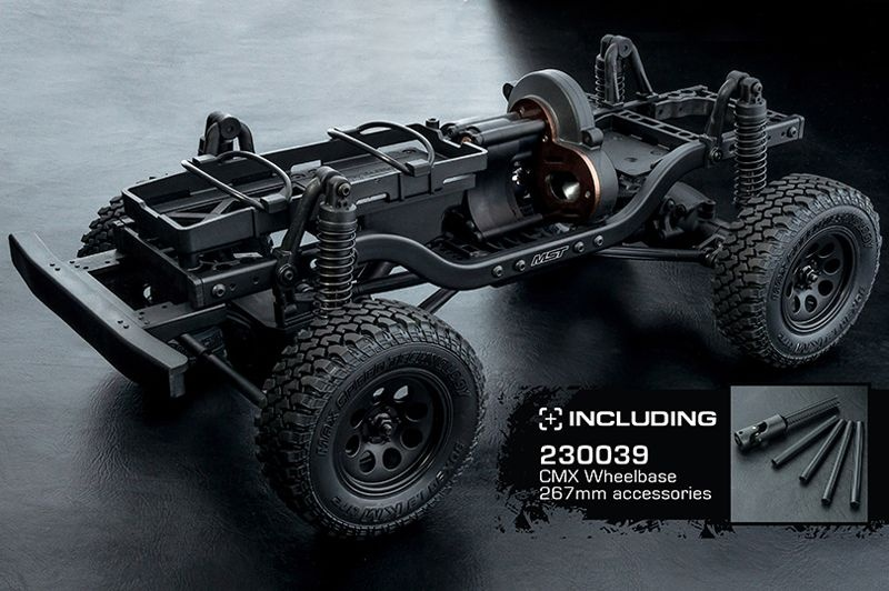 CMX 1/10 4WD High Performance ScaleCrawler Kit