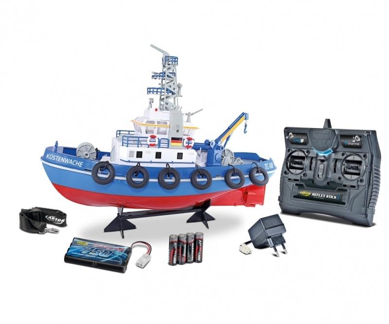 Küstenwache TC-08 RC-Boot 2,4GHz RTR