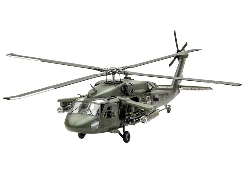 UH-60A Transport Helicopter 1:72
