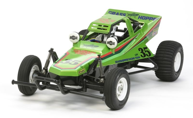 The Grasshopper 2005 Candy Green 1:10 2WD Buggy