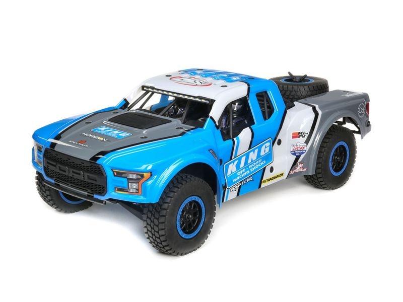 King Shocks Ford Raptor Baja Rey 4WD Desert Truck SMART RTR