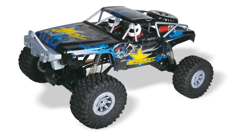 Double Bridge 4WD Rock Crawler 1:10 Brushed 2,4GHz 100% RTR