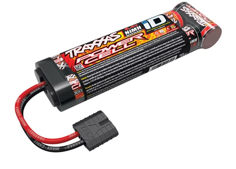 Power Cell 3000mAh 8,4V 7Z NiMh Stick TRAXXAS iD-Stecker