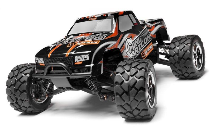 Mini Recon Monstertruck 1:18 RTR 2.4GHz Squad One Karosserie