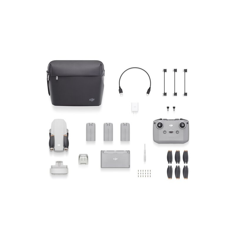 Mini 2 Fly More Combo - 4K Flycam mit 3-Achsgimbal + 4x Zoom