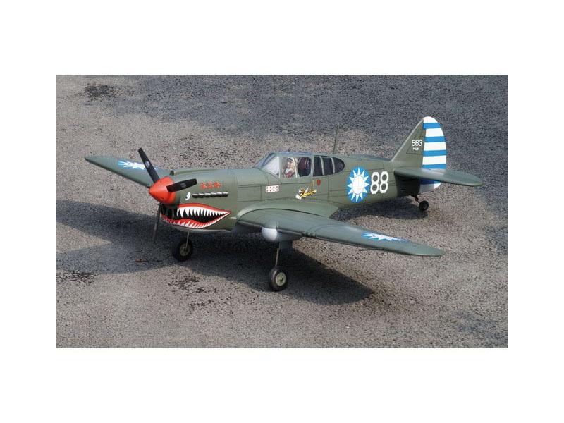 P-40 AVG Tomahawk / 1570 mm ARF Fertigmodell