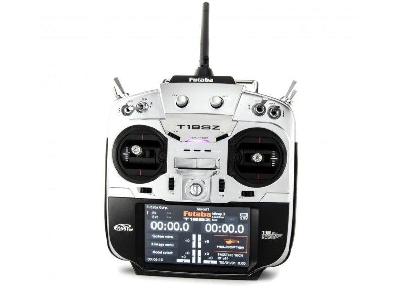 T18SZ Fernsteuerung mit Potless, Telemetrie + R7014SB Mode 1