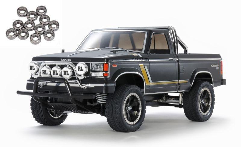 Landfreeder Schwarz Matt Special 4WD Crawler 1/10 Bausatz