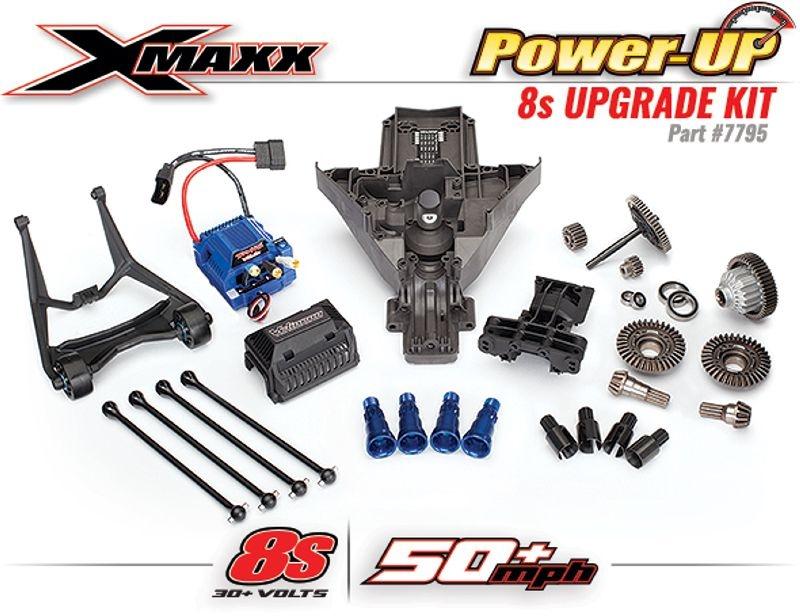 8S PowerUp-Kit für X-Maxx nur mit Rückgabe des alten Reglers