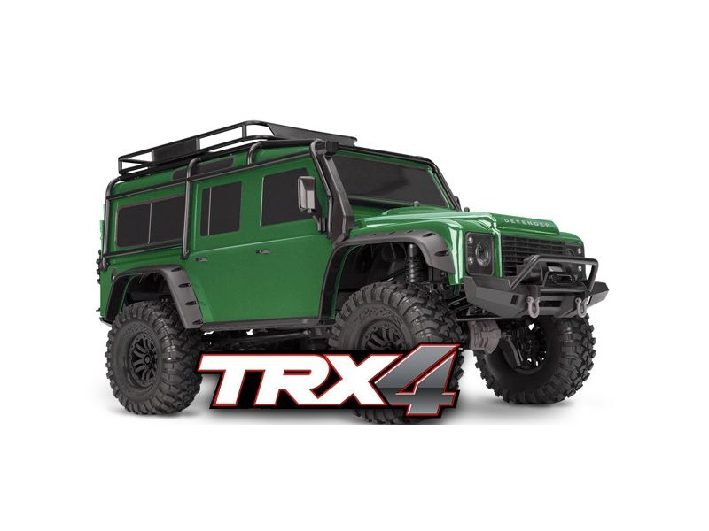 TRX-4 Scale and Trail Crawler grün 1:10 4WD