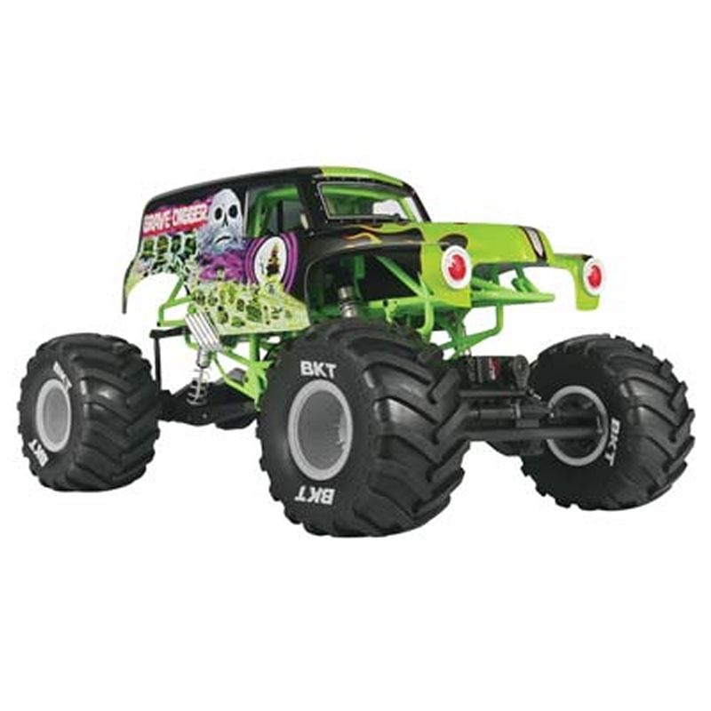 SMT10 Grave Digger Monster Jam 4WD 1/10 RTR