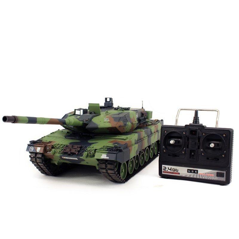 Leopard 2A6 BB RC Panzer 1/16 2,4GHz RTR