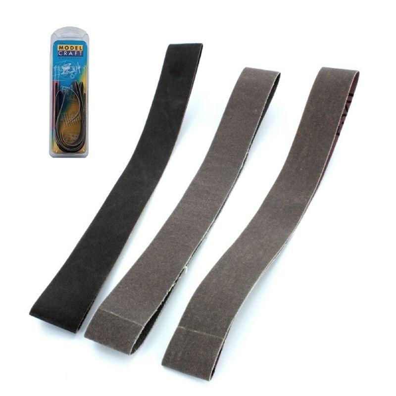 Sandpapier Bänder  für 492362 3x 25mm sortiert