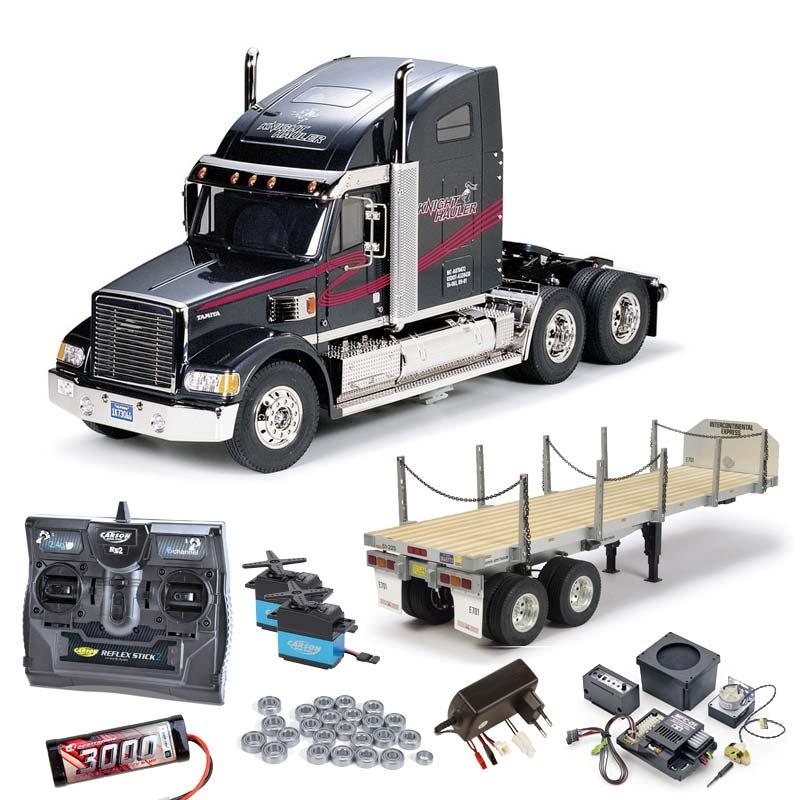 Truck Knight Hauler komplett inkl. MFC-01, Flachbett, Lager