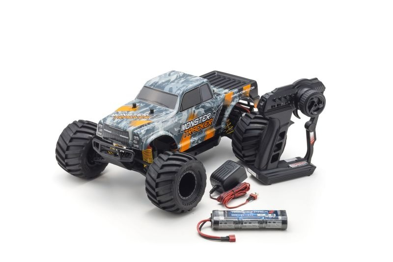 Monster Tracker 2WD 1:10 Monster Truck 100% RTR orange