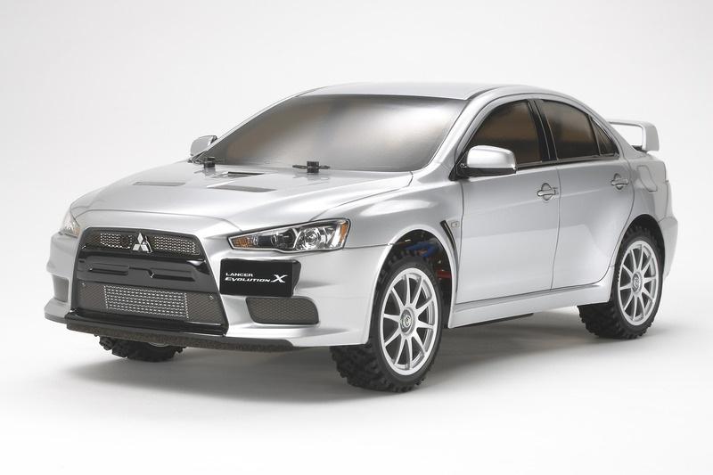 Mitsubishi Lancer Evolution X 1/10 Rally Kit DF-03 RA+Regler