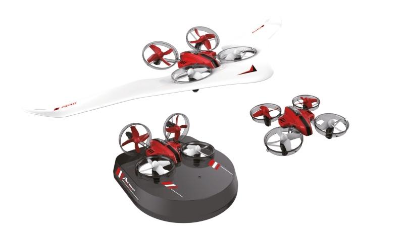 Air Genius Drohne, Luftkissenfahrzeug, Gleiter RTF 2,4Ghz