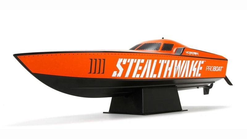 Stealthwake 23 Deep-V Rennboot RTR inkl. Akku und Ladegerät