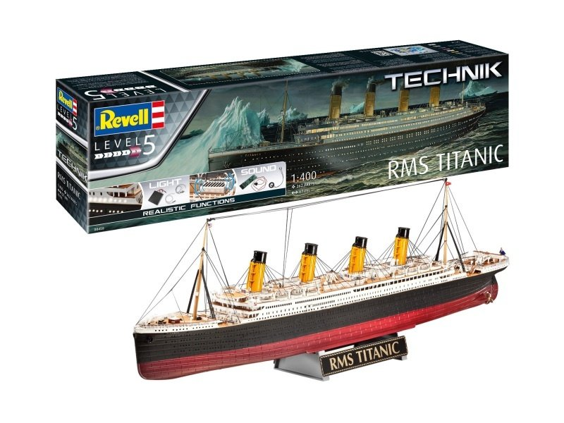 RMS Titanic - Technik Bausatz 1:400 mit Licht und Sound
