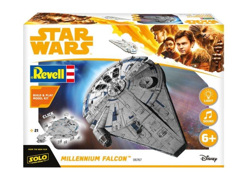 Star Wars Millennium Falcon Build & Play Bausatz 1/164