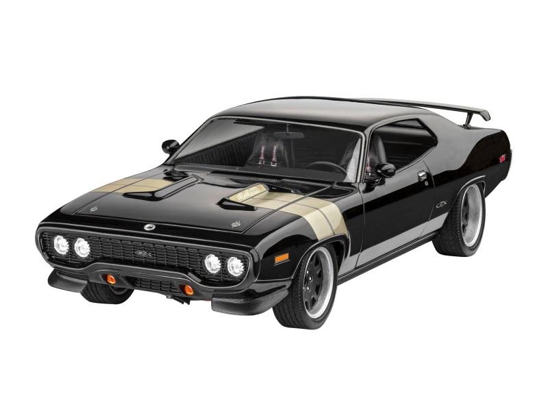 Fast & Furious - Dominics 1971 Plymouth GTX Bausatz 1:24